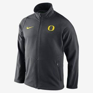 niKe oregon ducks sphere hybrid jacket anthracite